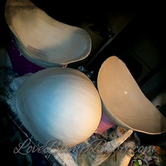 Belly Bowls - work in progress. Different stages.