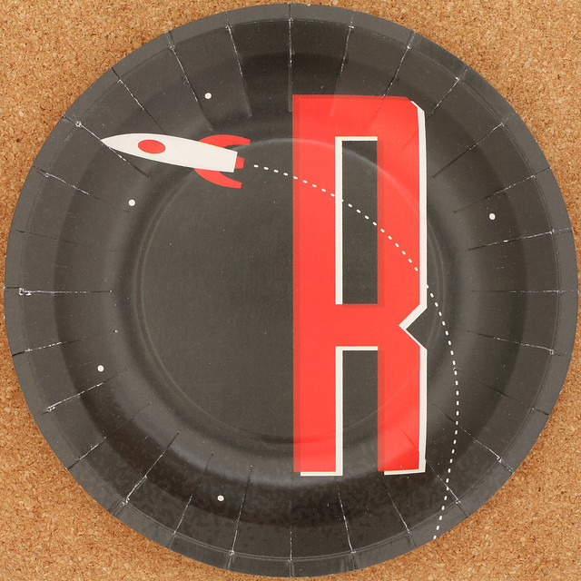 MAGPIE plate letter R