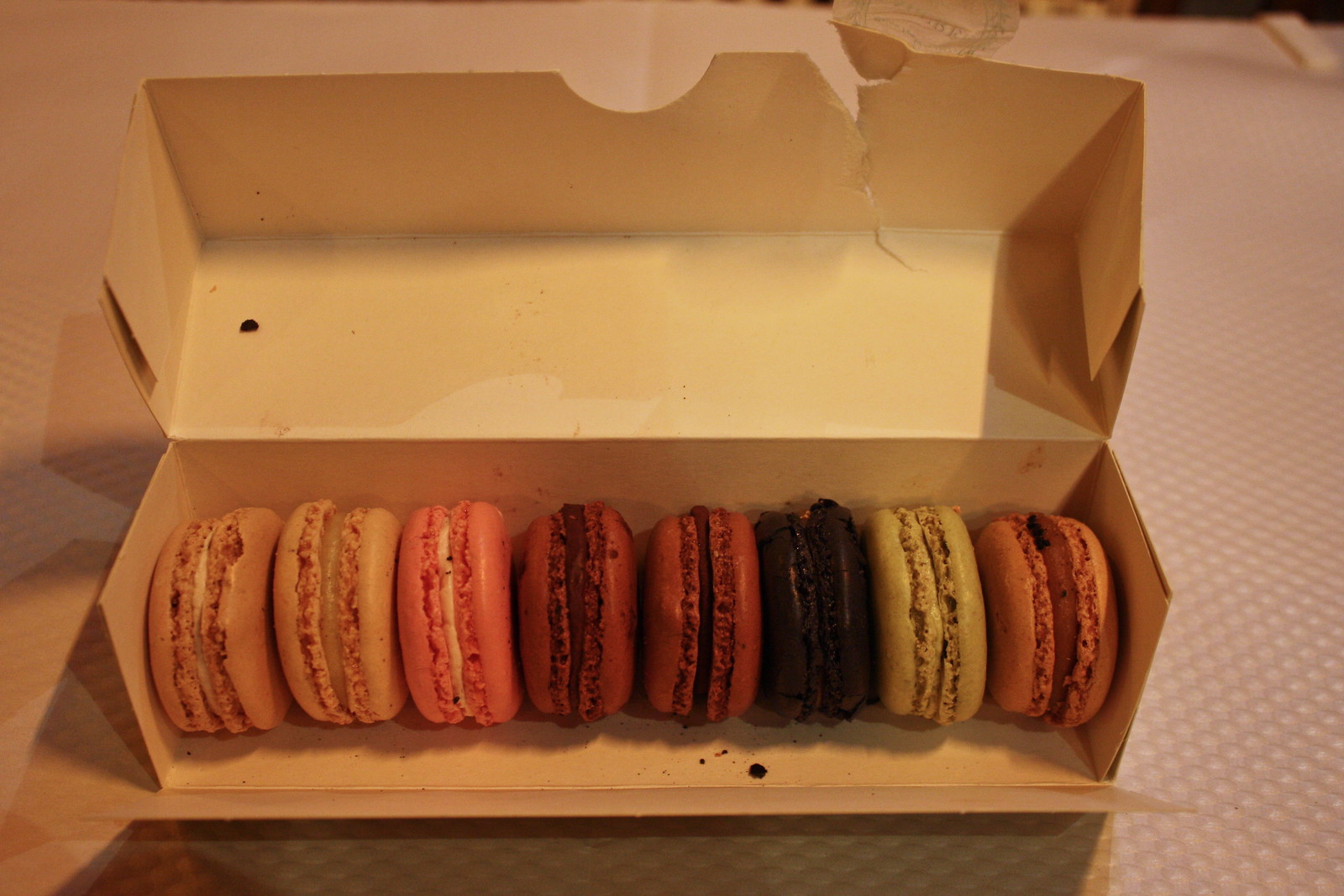 Ladurée macarons, Paris, France