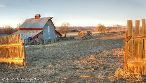 field barn sunrise fence colorado pasture berthoud longspeak frontrange oldbarn larimercounty berthoudcolorado