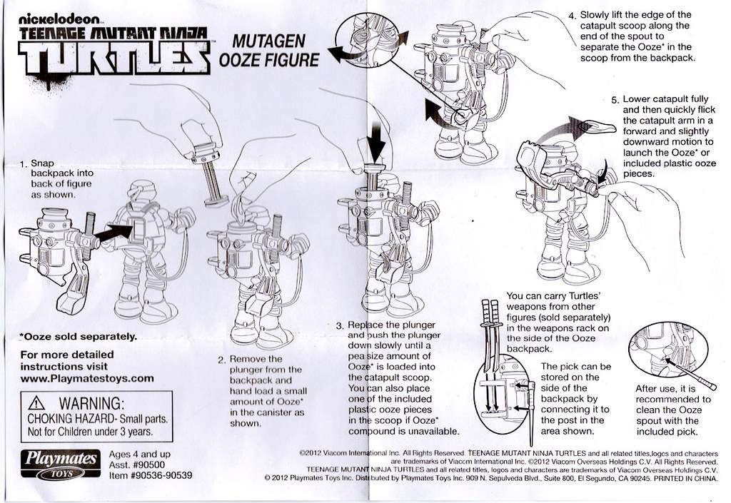 "Nickelodeon ""MUTAGEN OOZE"" TEENAGE MUTANT NINJA TURTLES ::  ..instructions (( 2013 )) by tOkKa"