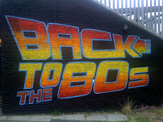 Back To The 80s artwork by street artists Graffiti Life in Brick Lane #StreetArt | by bablu121