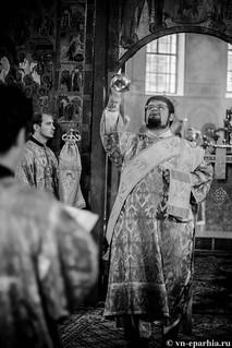 Литургия в Софийском соборе 130
