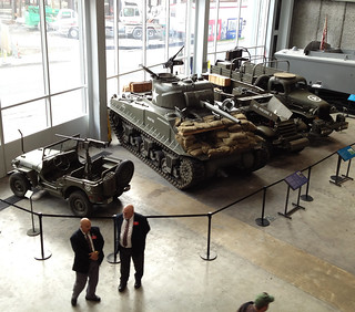 New Orleans WWII Museum Tanks | by Downtown Traveler