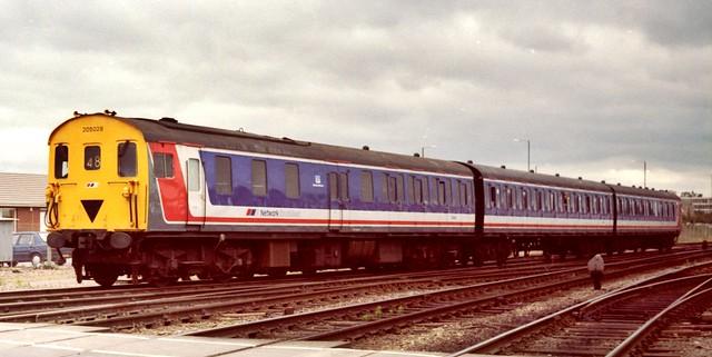 Railways - DEMU 205028 on a Gloucester Rail Open Day special