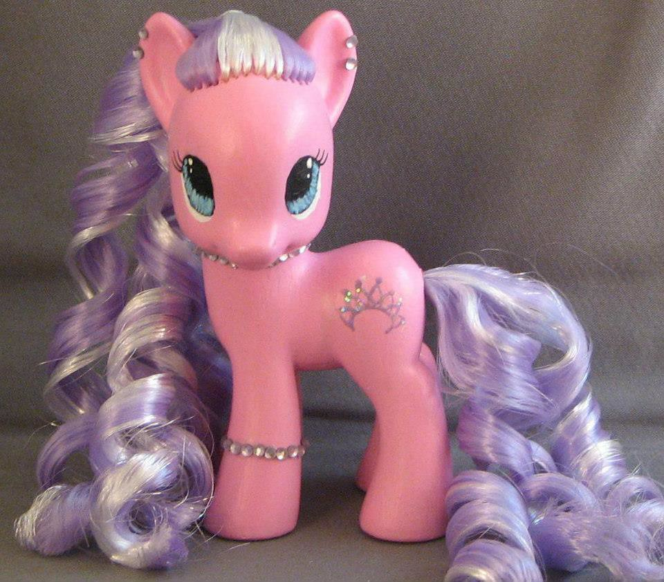 Custom My Little Pony Diamond Tiara Fim Shannon Andrews Flickr