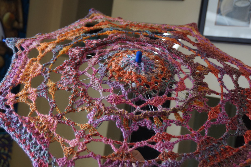 Crochet Umbrella / Parasol Tutorial | Learn how Mikey made t… | Flickr