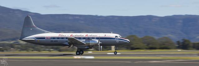 TAA Convair 440 - Wonderboom to Wollongong