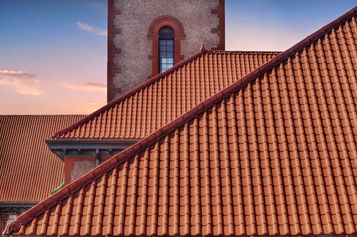 ian sane images redcoverings union station train portland oregon china town red roof architecture sunset amtrak lines angles canon eos 7d camera ef70200mm f28l is usm lens