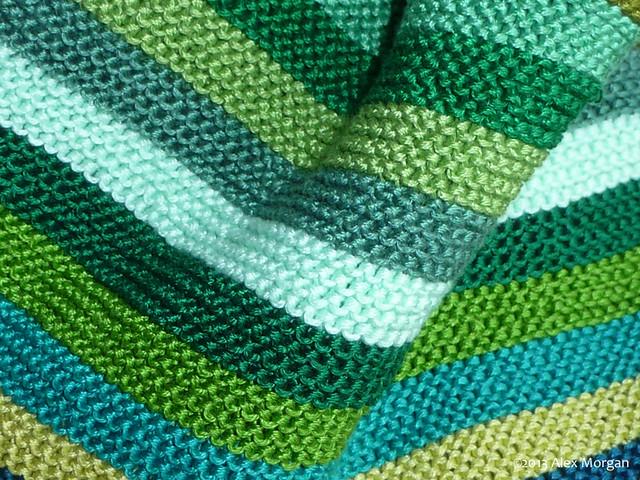 Green Sock. detail 2