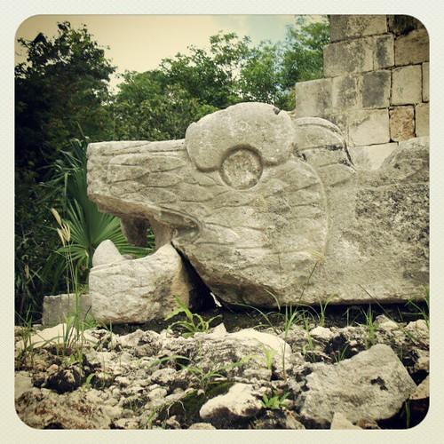 Mayan ruins of Chichen Itza #Mayan  #Mexico #Yucatan #chichenitza