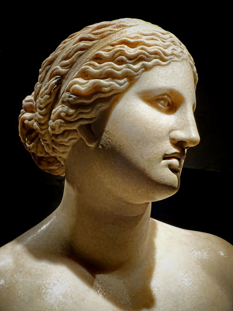 Bust Of Aphrodite Roman Copy Of 360 Bce Greek Original By