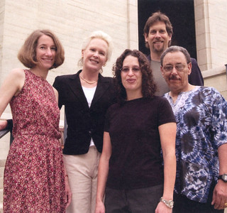 2004 Wig Distinguished Professor recipients Eleanor Brown, Martha Andresen, Gilda Ochoa, Kenneth Wolf and Sidney Lemelle