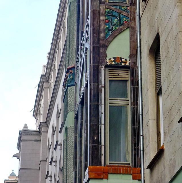 Budapest Art Nouveau. Explored #76