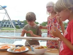 praktisch ankeren bij de fishmarket
