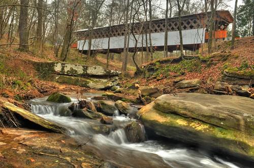 coveredbridges blountcounty alabamathebeautiful easleybridge rosaalabama blountcountycoveredbridges easleyalabama