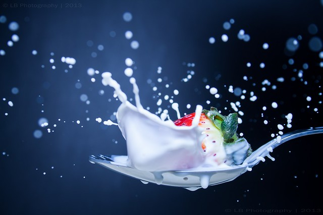 Strawberry Cream Splash