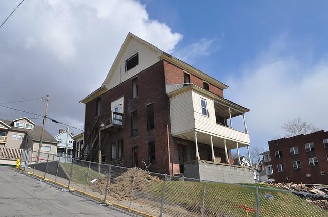 Doomed Neighborhood Coming Down