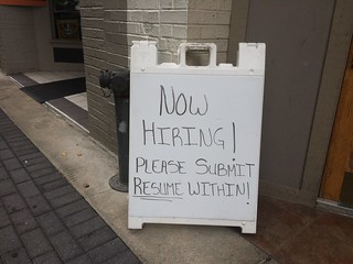 Now Hiring Please Submit Resume Within Sign | by stevendepolo