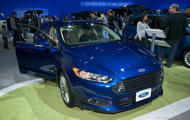 2013 Washington Auto Show - Upper Concourse - Ford 13