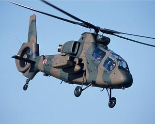観測ヘリコプター   by JGSDF
