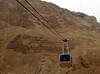 Masada, lanovka, foto: Michaela Zoubková