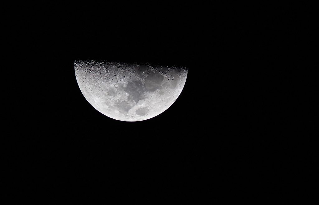 Televue 85 moon shot Canon 6D | Testing the televue 85 with