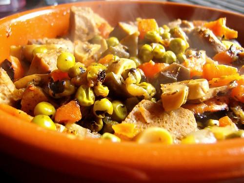 Seitan stew