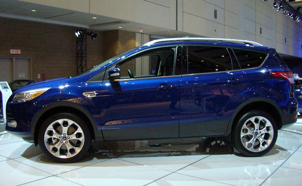 2012 Canadian International Auto Show ford escape blue