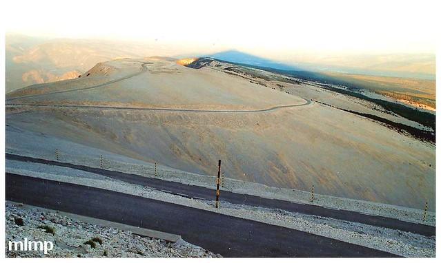 Vue du sommet du mont Ventoux