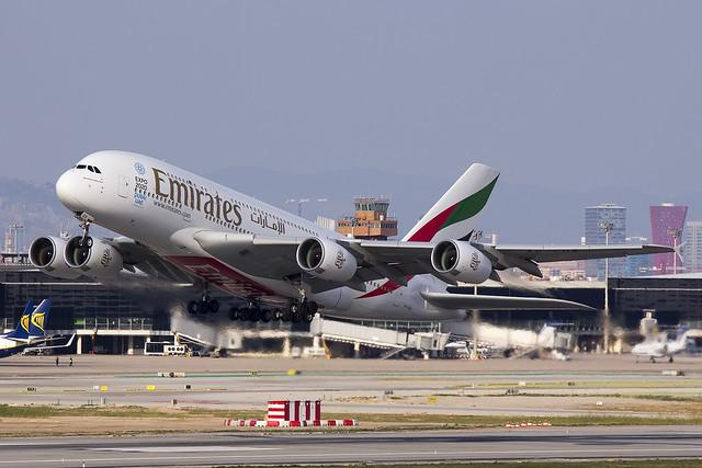 A380 A6-EDX Emirates