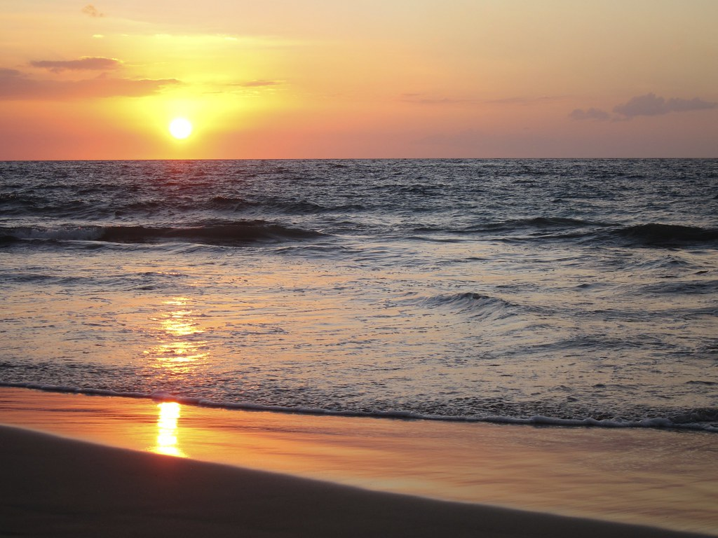 Hapuna Beach State Park Sunset Hawaii Licensing Informatio