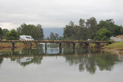 bridge river structure bellingen