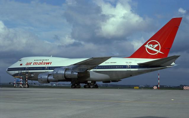 7Q-YKL (Air Malawi)