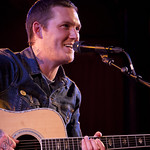 Mon, 18/07/2016 - 9:52pm - Brian Fallon (Gaslight Anthem) performs solo songs for an audience of WFUV members at The McKittrick Hotel (home of Sleep No More), 7/18/16. Hosted by Dennis Elsas. Photo by Laura Fedele