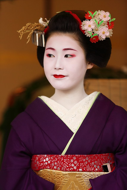 Maiko lady