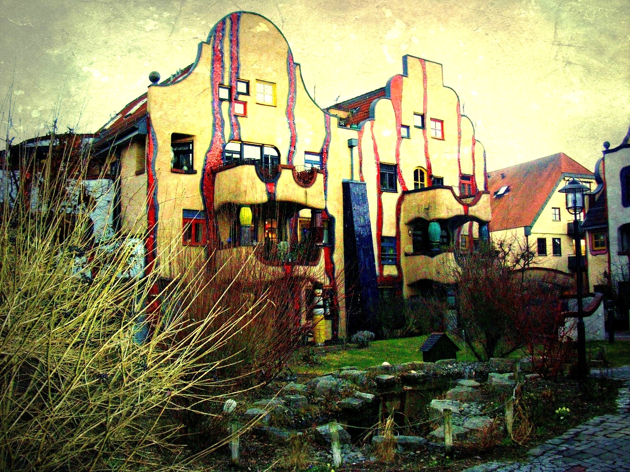 Plochingen- Hier war der Künstler Hundertwasser aktiv,62-53/1826