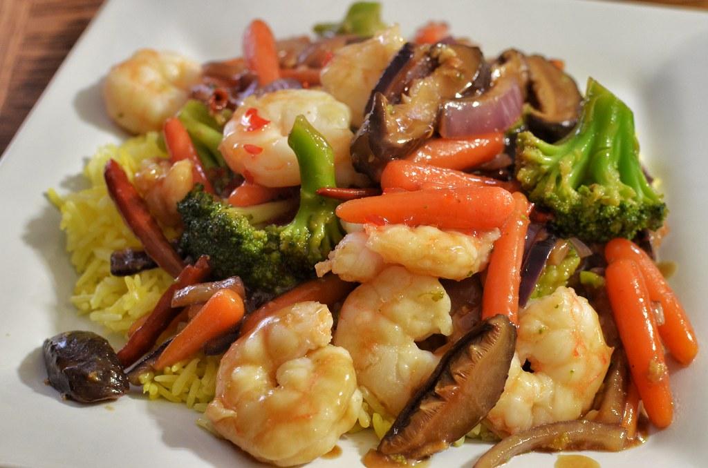 Image result for stir fry shrimp