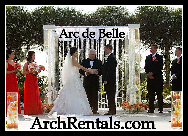 Acrylic Wedding Chuppah Chuppa Lucite At Hilton By Arc De