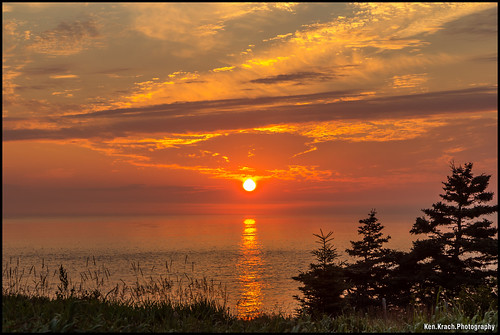 ocean morning sunrise maine newengland atlanticocean lubec