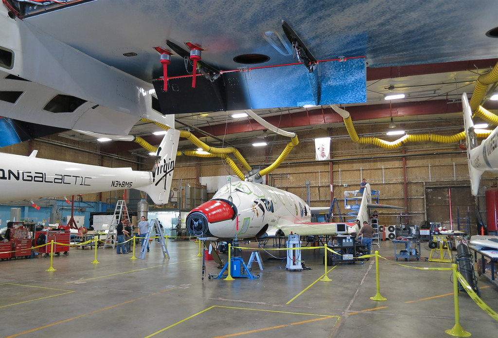 Scaled Composites' SpaceShip Two Under Construction | Flickr