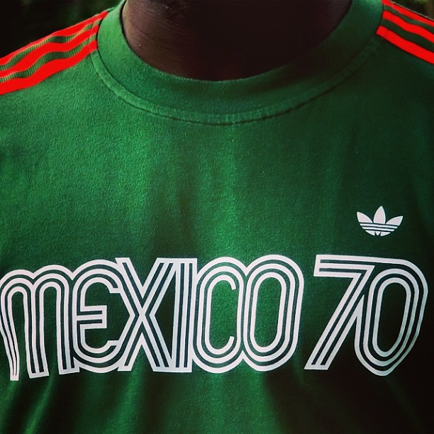 huge discount b9ca6 dad3f ... The Adidas Originals Mexico 1970 T-shirt by EnLawded.com   by The Lawd