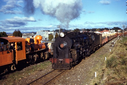 NZR 1959-08-01 K929 on 240 dep Pautarru beside Mallet | by NZR Model Railways