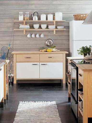 IKEA Kitchen w/ VÄRDE Shelves | Heath Ashli | Flickr