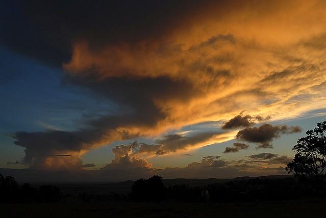Dying storms slight return
