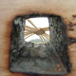 Yurt Wheel Burn hole
