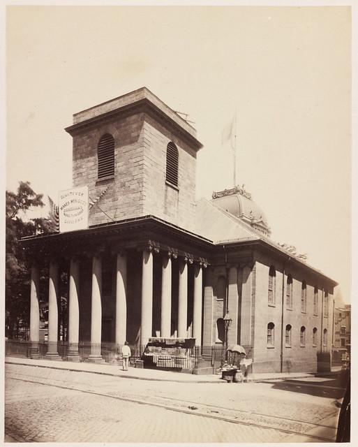 Stone Chapel. July 4, 1876
