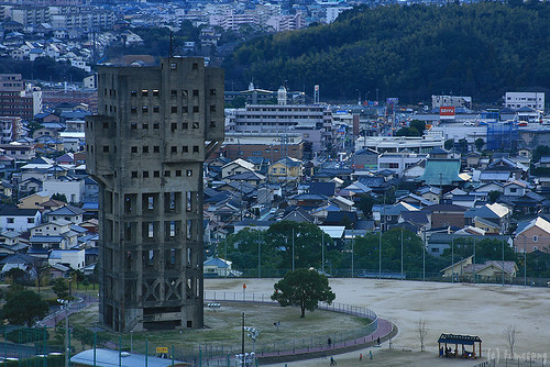 tower of Shime coal mine | by tomosang R32m