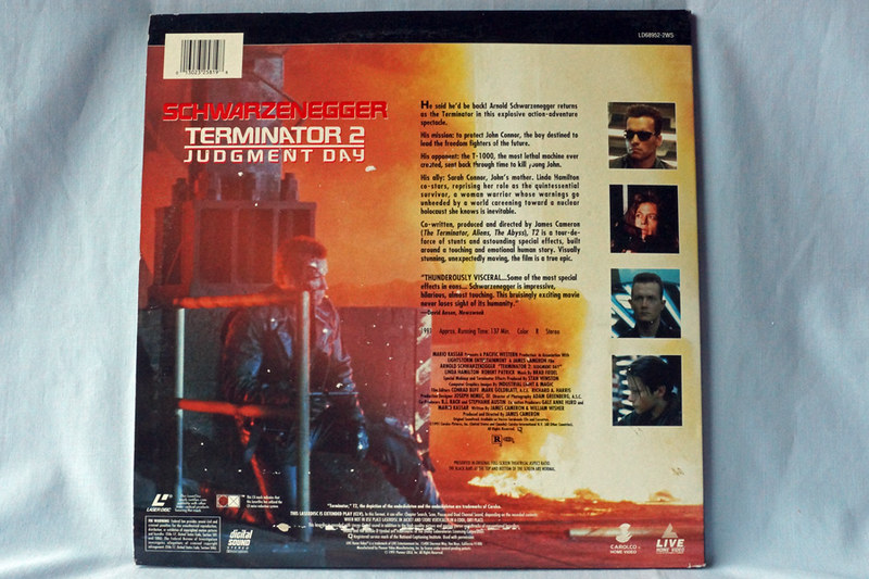 DSC02050 Terminator 2 Judgement Day Laser Disc