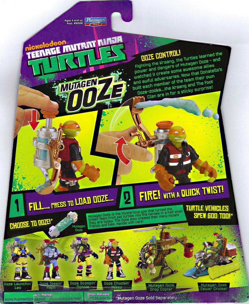 "Nickelodeon ""MUTAGEN OOZE"" TEENAGE MUTANT NINJA TURTLES ::  ..card backer (( 2013 )) by tOkKa"